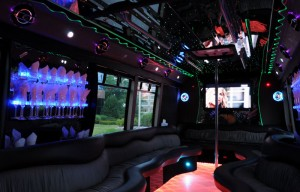 45 Passenger Party Bus Dallas Texas