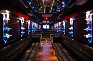 Party Bus Dallas TX Rentals 50 passenger