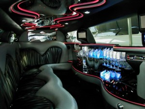 stretch limo interior Dallas