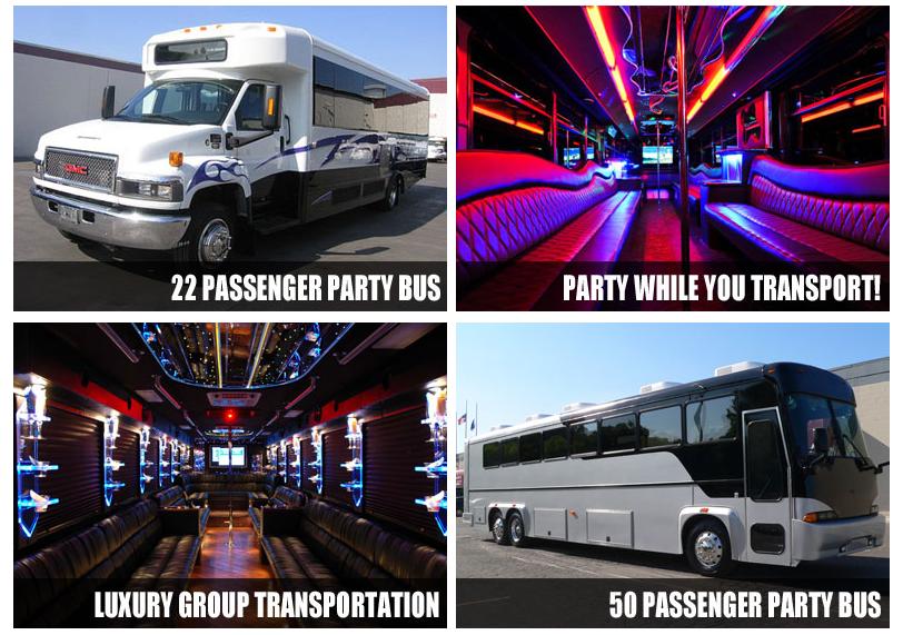 party bus Arlington TX